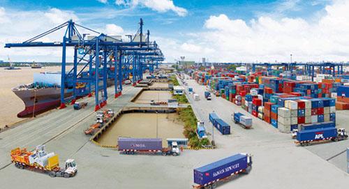 Vận chuyển container đường biển Cảng Trà Nóc