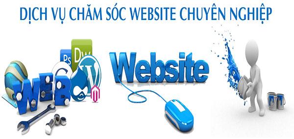 Chăm sóc trang website tận tình chuyên nghiệp chỉ có ở Sài Gòn Hitech